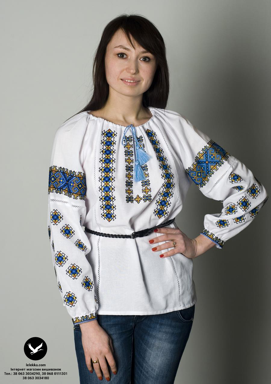 Українські вишиванки – давня історія 3691b7552659f